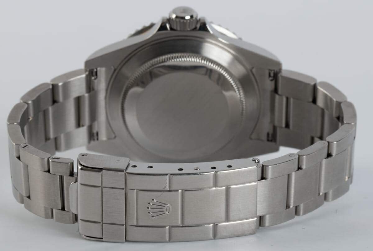 Rear / Band View of Submariner Date 'Anniversary' Mark VII - unpolished