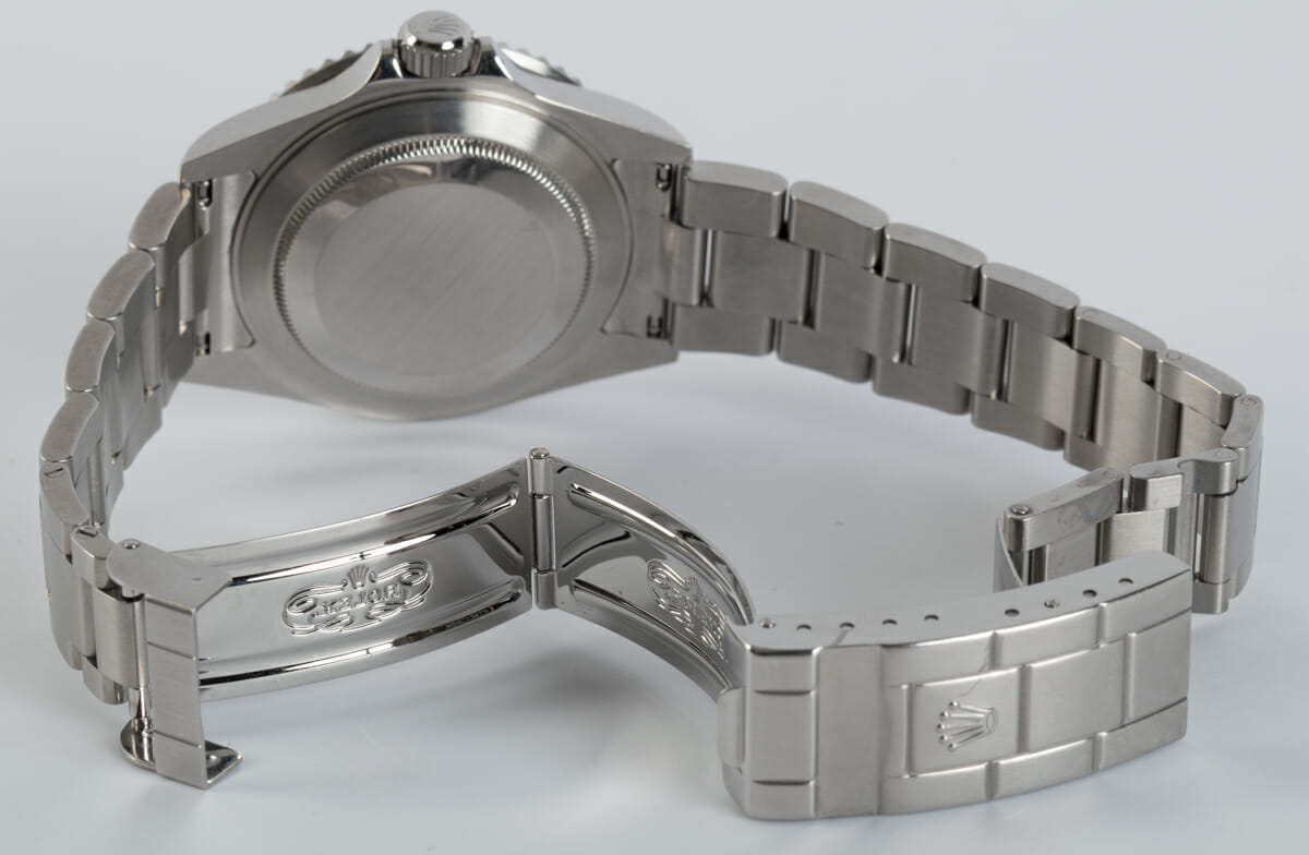 Open Clasp Shot of Submariner Date 'Anniversary' Mark VII - unpolished