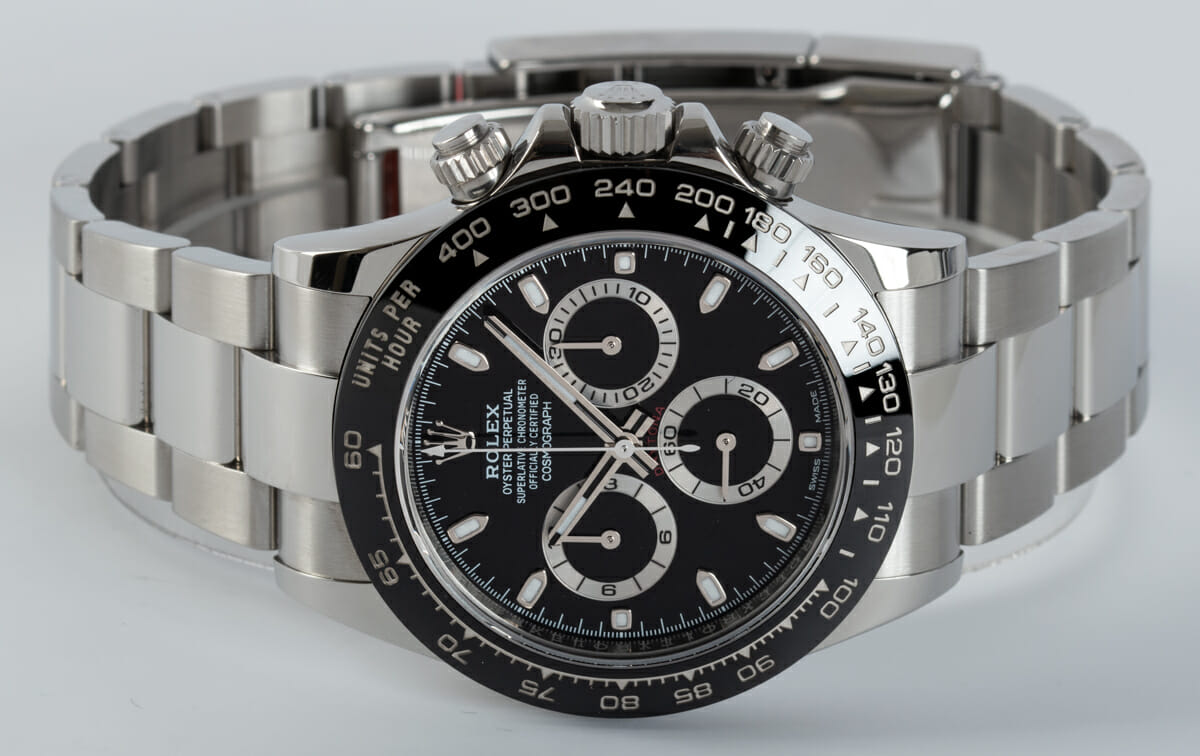 Front View of Cosmograph Daytona