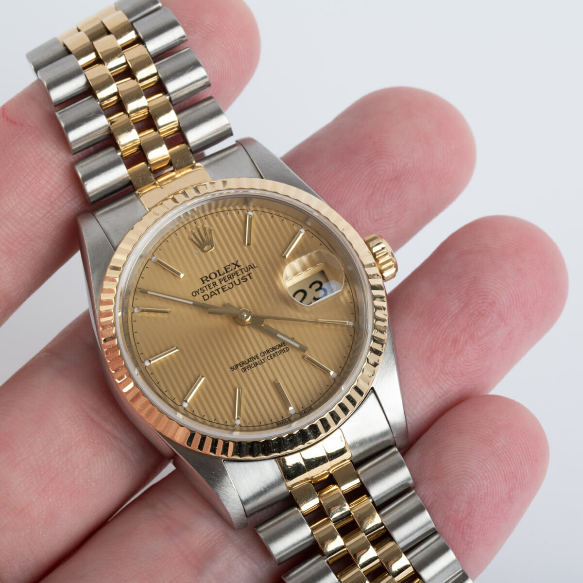 Extra Shot of Datejust 36