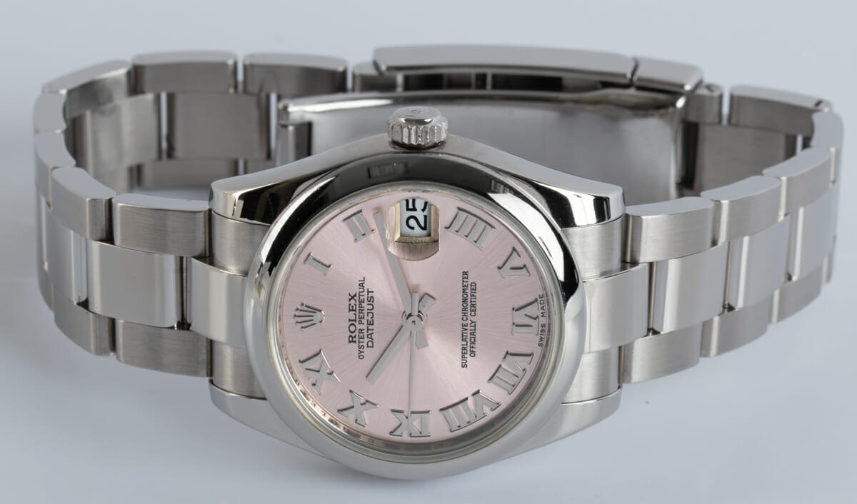 Front View of Datejust Midsize 31MM