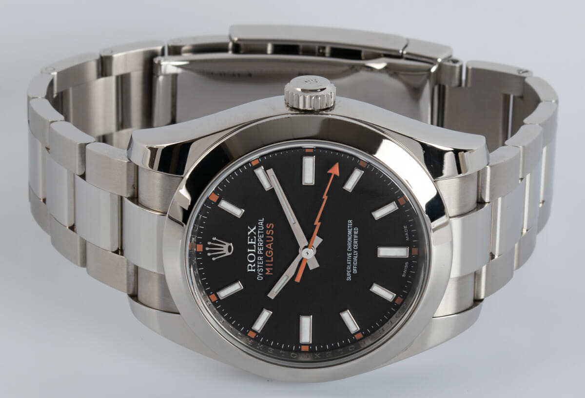 Front View of Milgauss