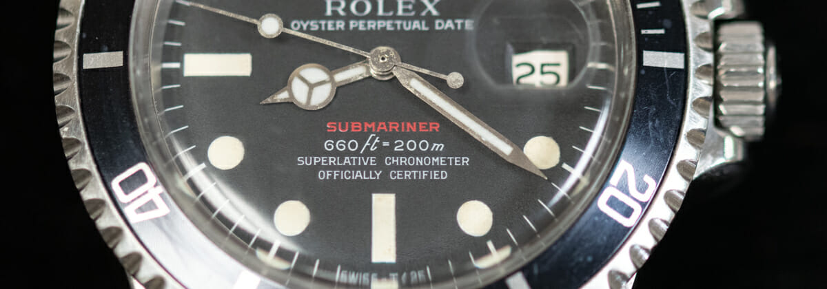 Extra Shot of 'Red' Submariner Date 1680