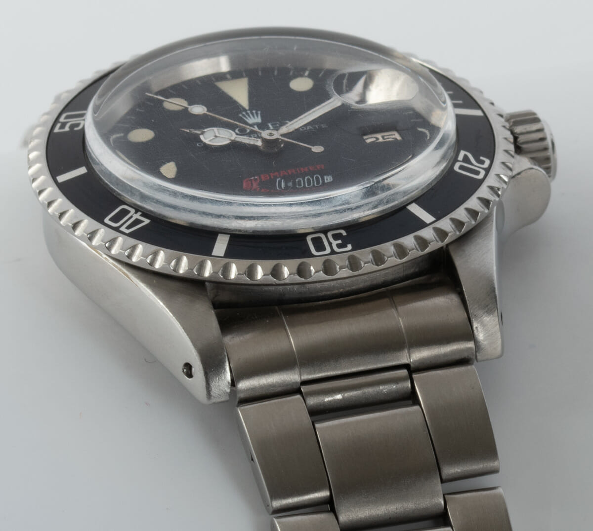 Dial Shot of 'Red' Submariner Date 1680