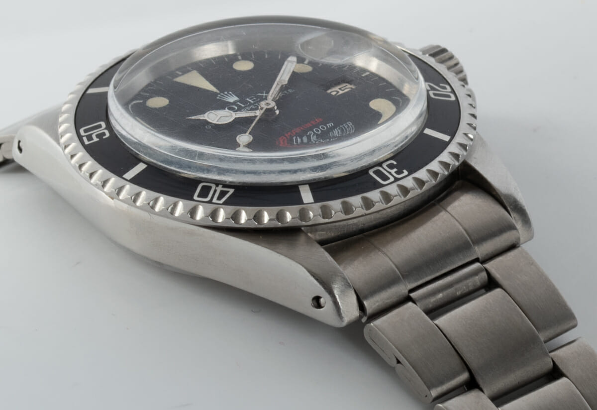 9' Side Shot of 'Red' Submariner Date 1680