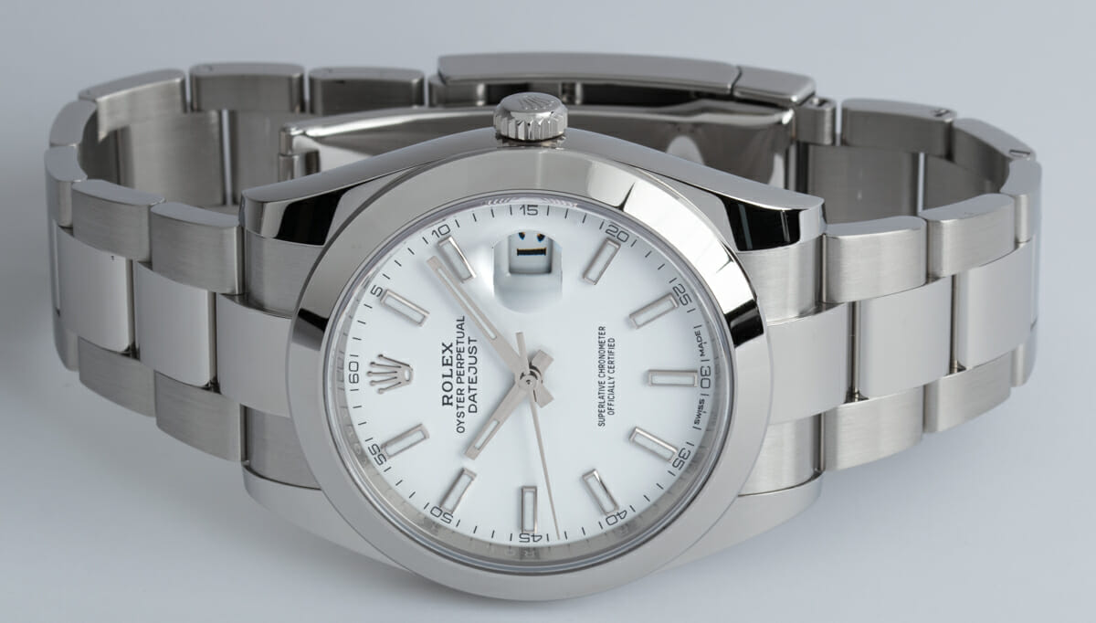 Front View of Datejust 41