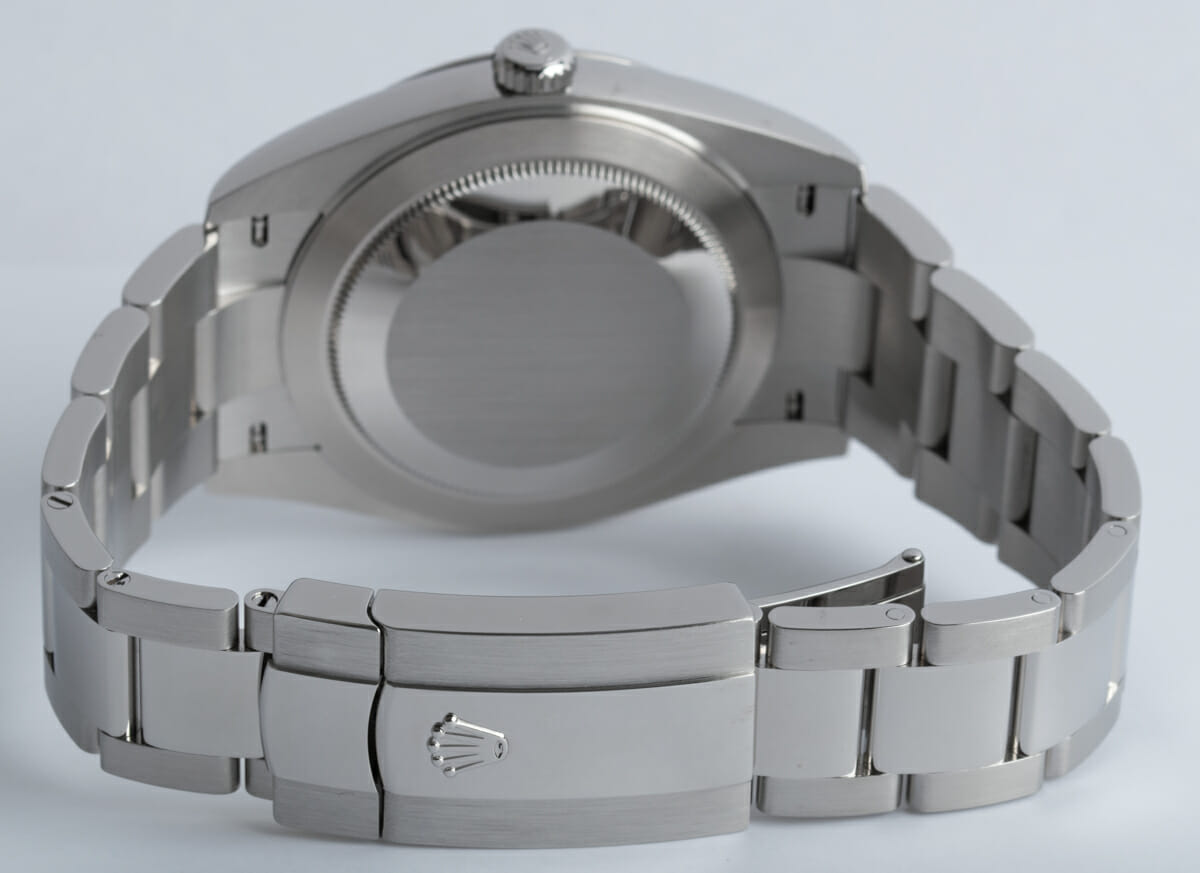 Rear / Band View of Datejust 41