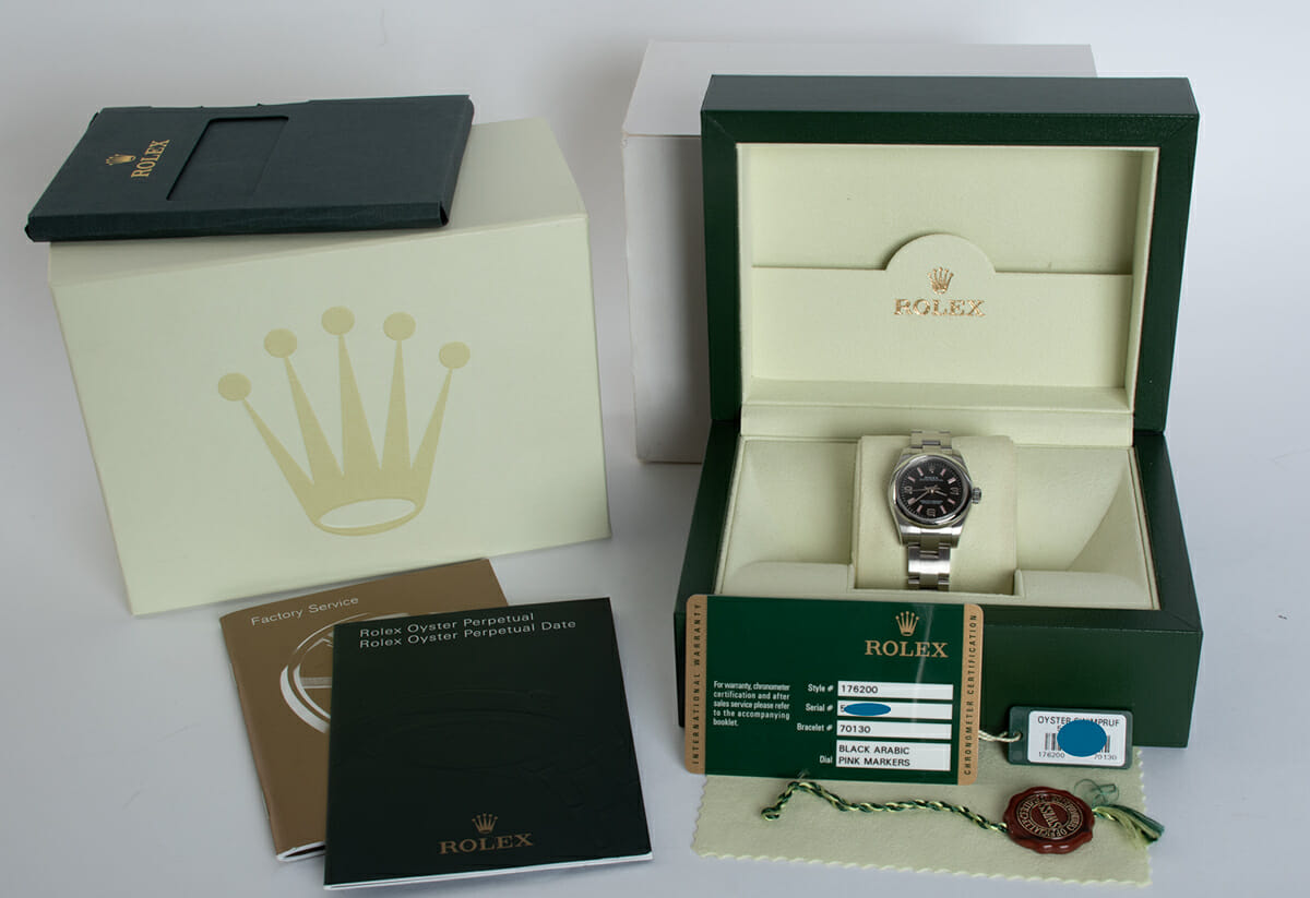 Box / Paper shot of Ladies Oyster Perpetual