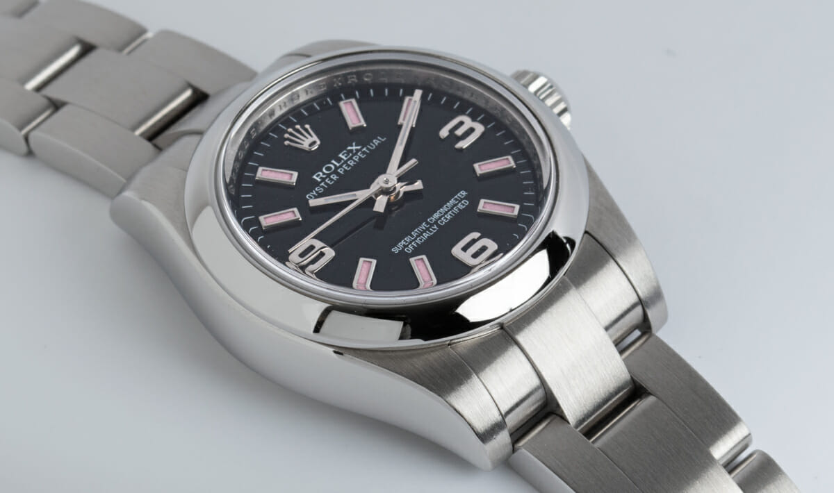 9' Side Shot of Ladies Oyster Perpetual