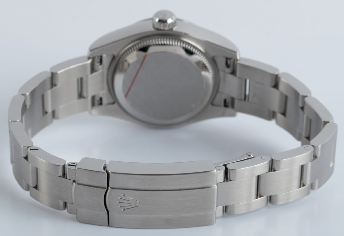 Rear / Band View of Ladies Oyster Perpetual