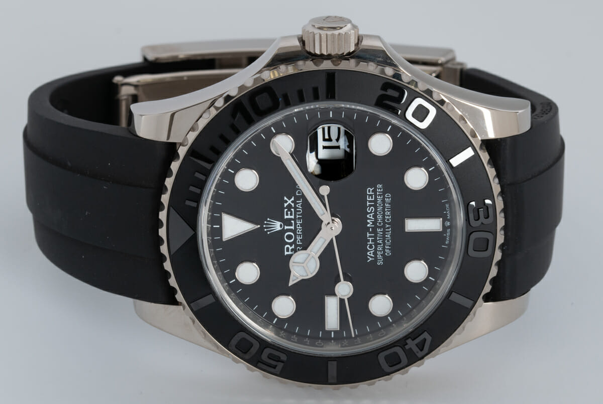 Front View of Yacht-Master 42