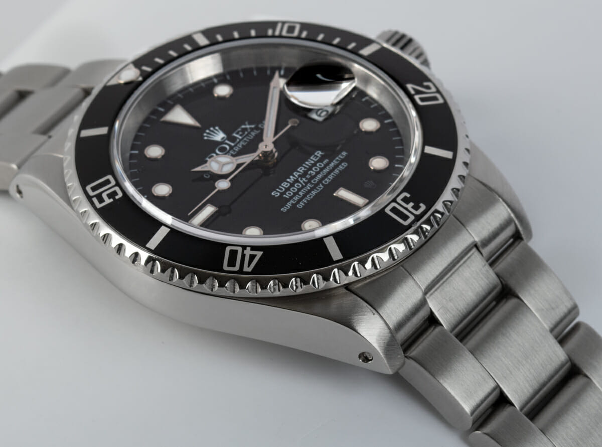 9' Side Shot of Submariner Date