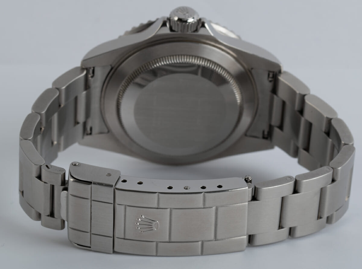 Rear / Band View of Submariner Date - never polished