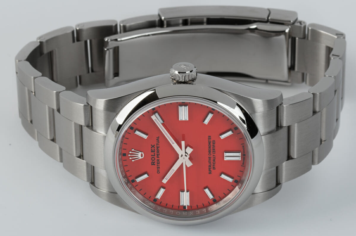Front View of Oyster Perpetual 36