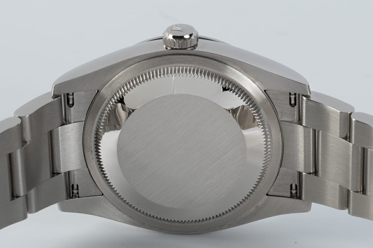 Caseback of Oyster Perpetual 36