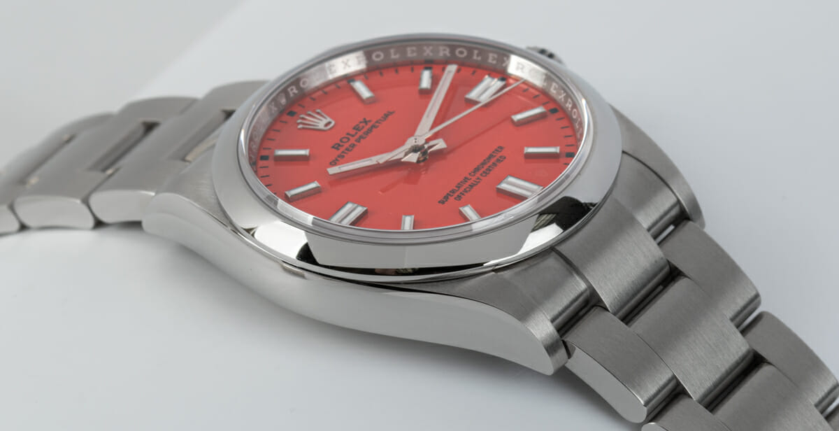 9' Side Shot of Oyster Perpetual 36