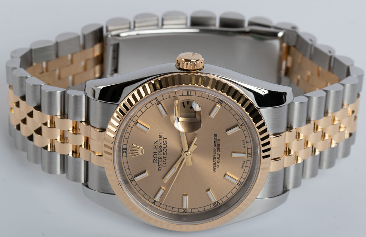 Front View of Datejust 36