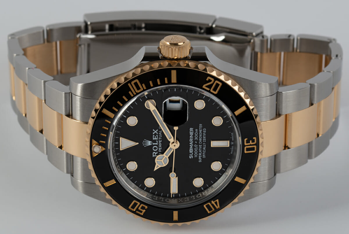 Front View of Submariner Date 41