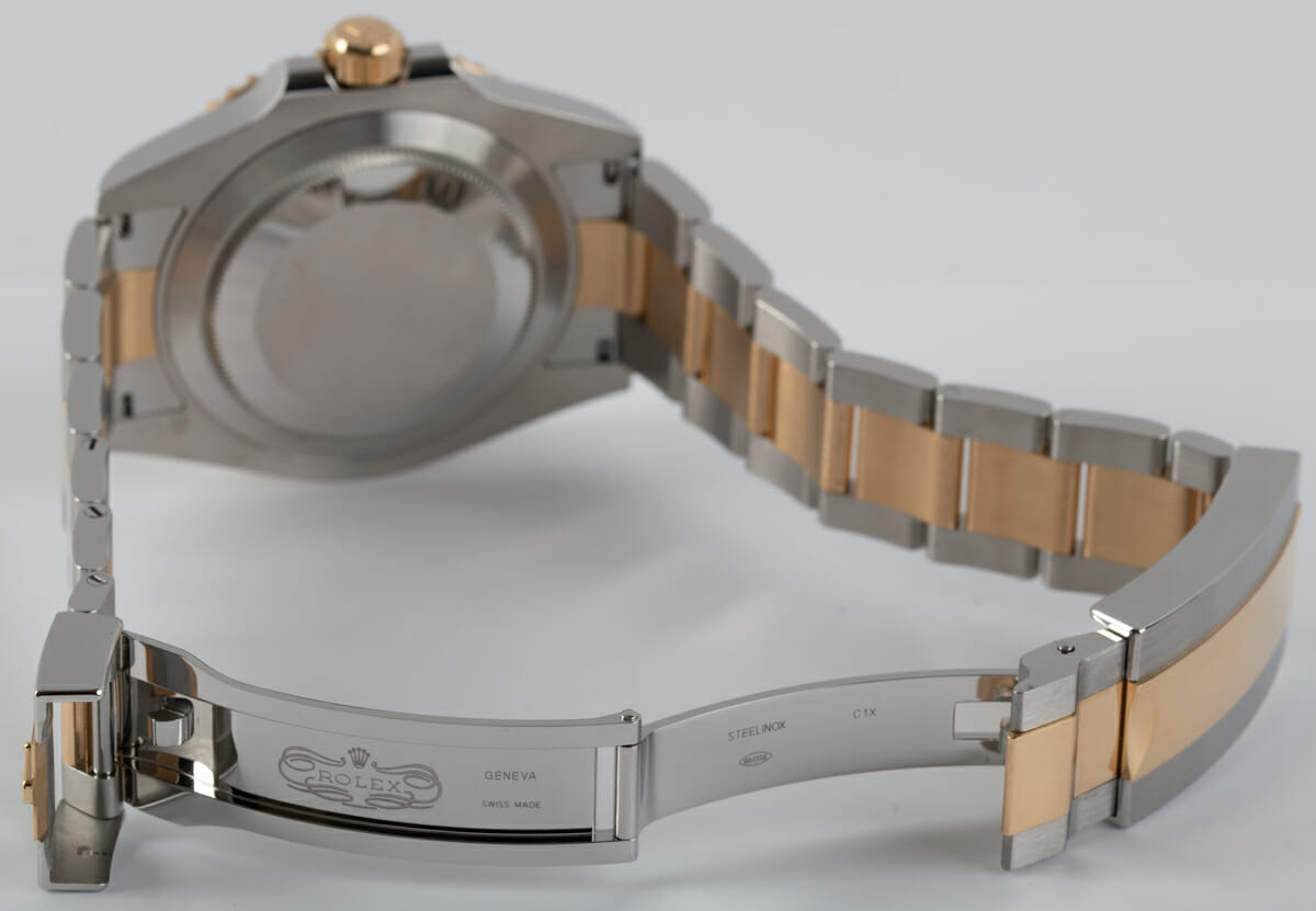 Open Clasp Shot of Submariner Date 41