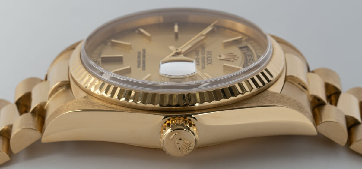 Crown Side Shot of Day-Date President