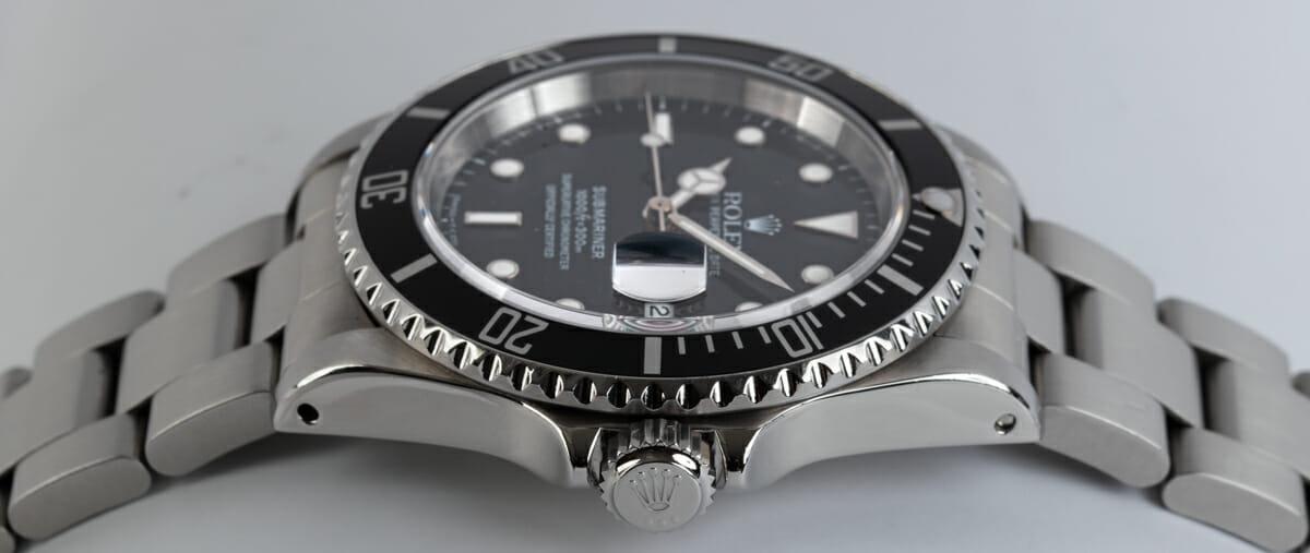 Crown Side Shot of Submariner Date