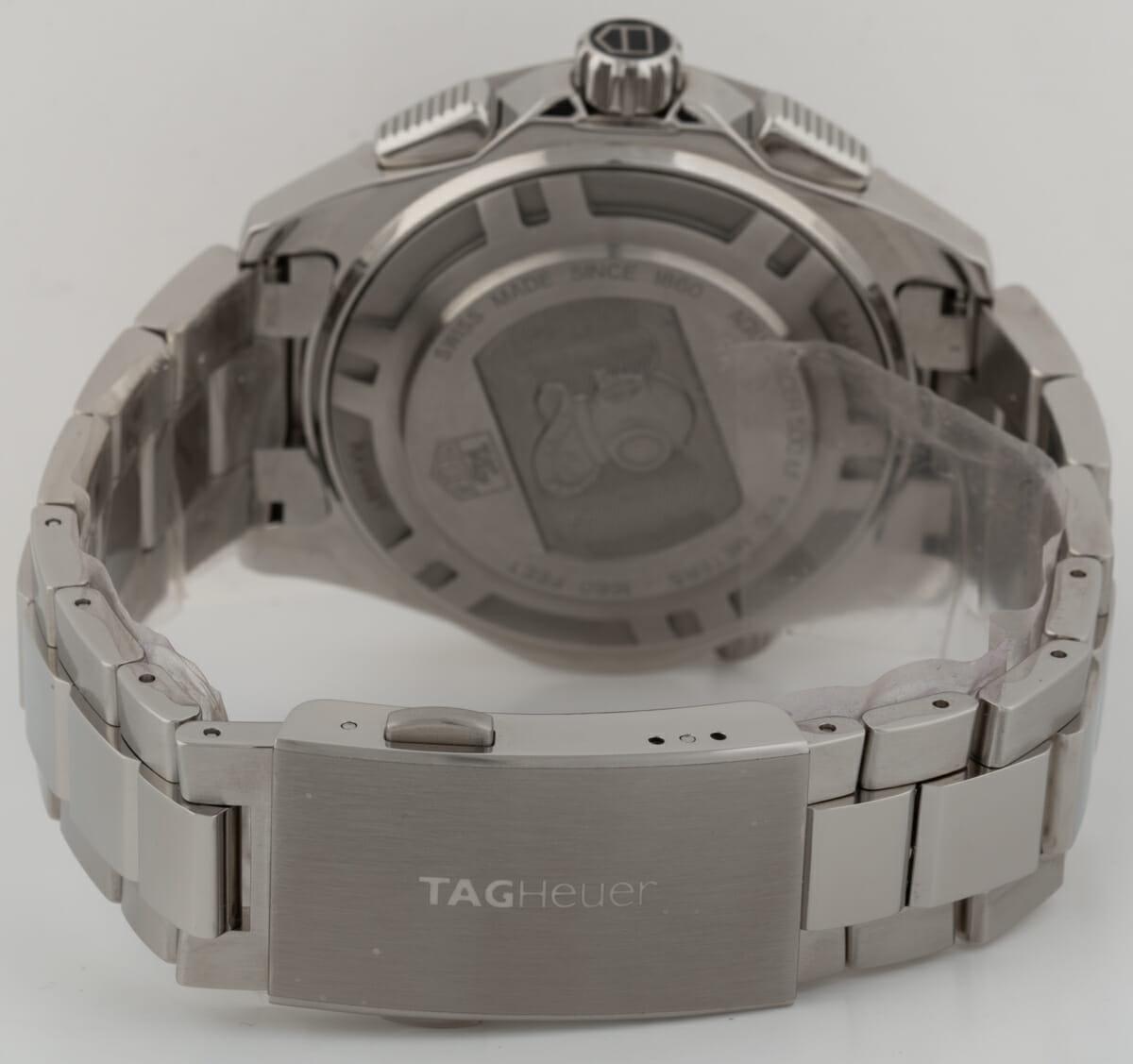 Rear / Band View of Aquaracer 500m Chronograph