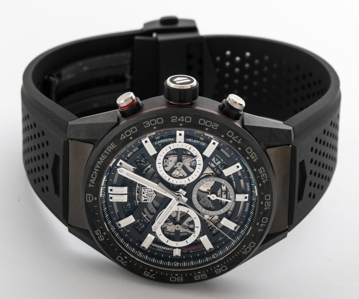 Front View of Carrera Chronograph