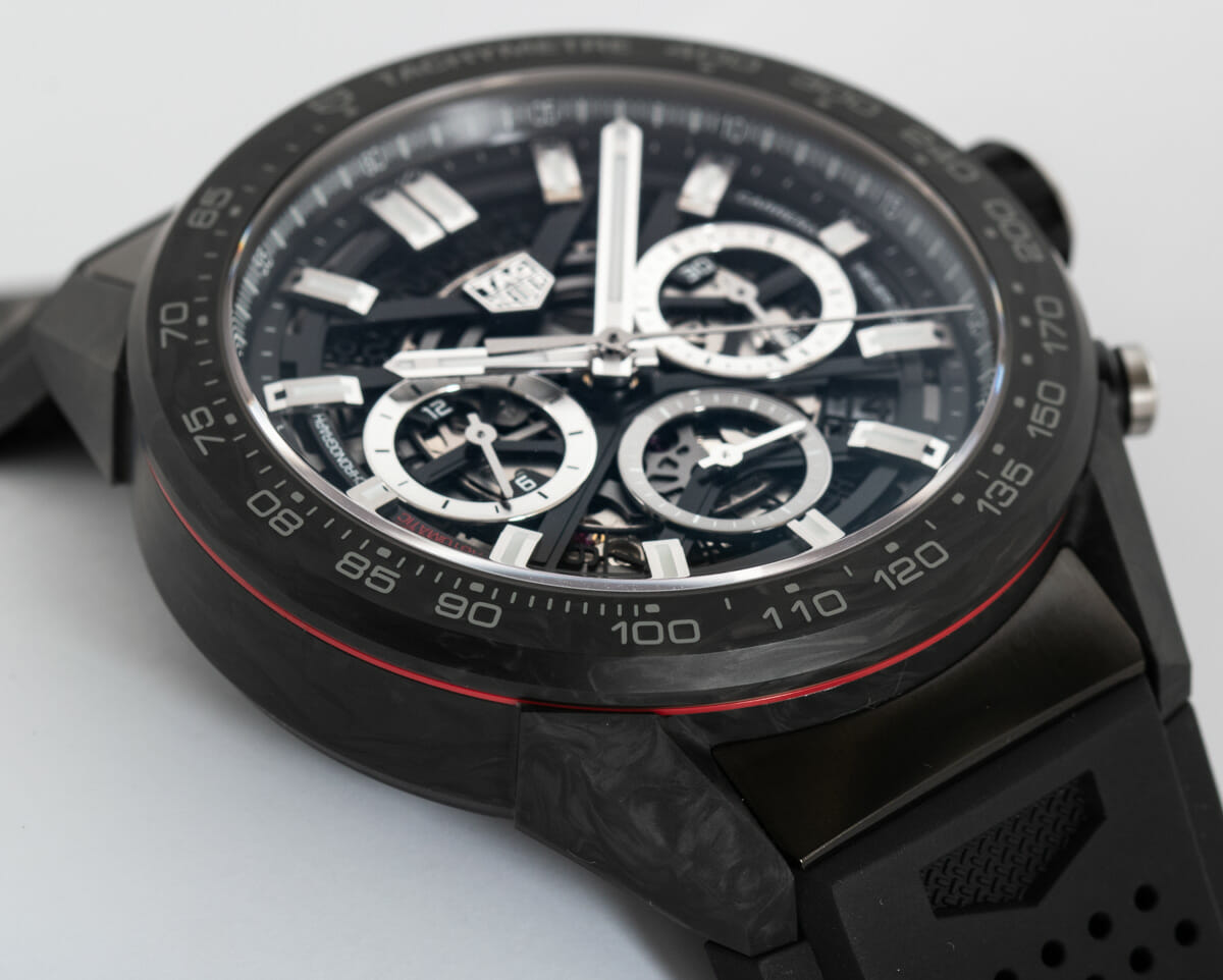 9' Side Shot of Carrera Chronograph