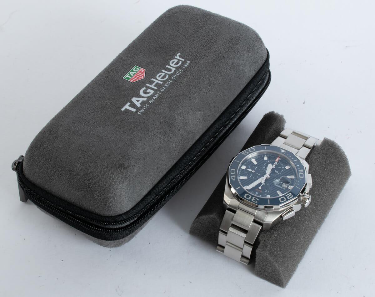 Box / Paper shot of Aquaracer Chronograph Calibre 16