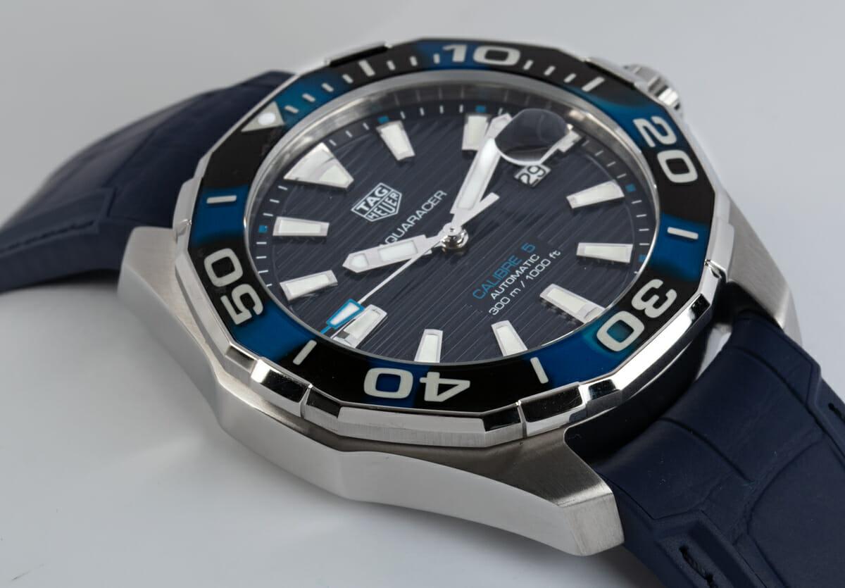 9' Side Shot of Aquaracer Caliber 5