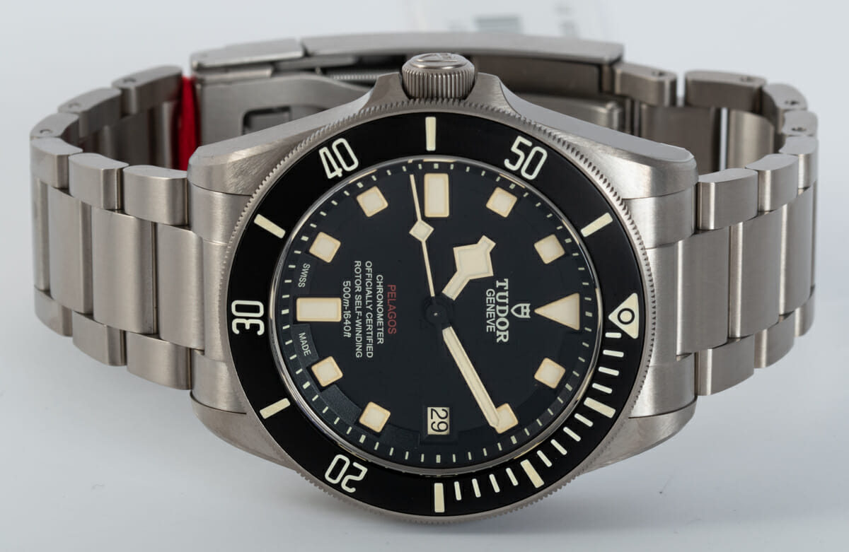 Front View of Pelagos LHD