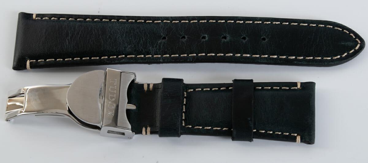 Extra Rear Shot of Heritage Black Bay Chronograph S&G