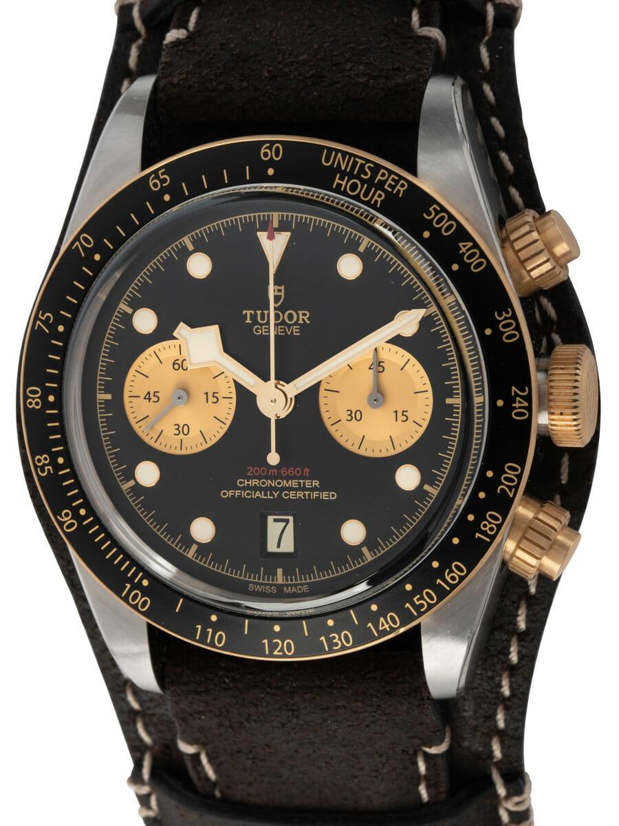 Tudor - Heritage Black Bay Chronograph S&G