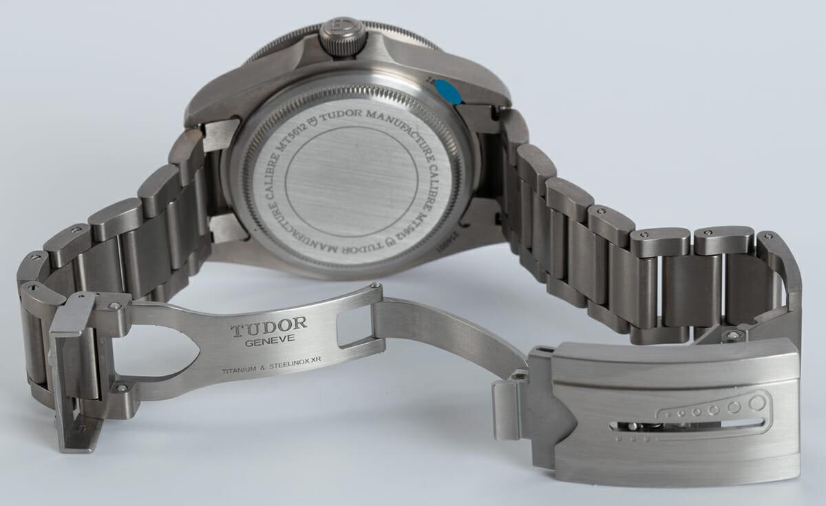 Open Clasp Shot of Pelagos Chronometer