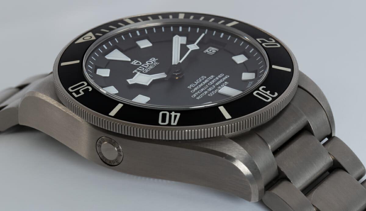 9' Side Shot of Pelagos Chronometer