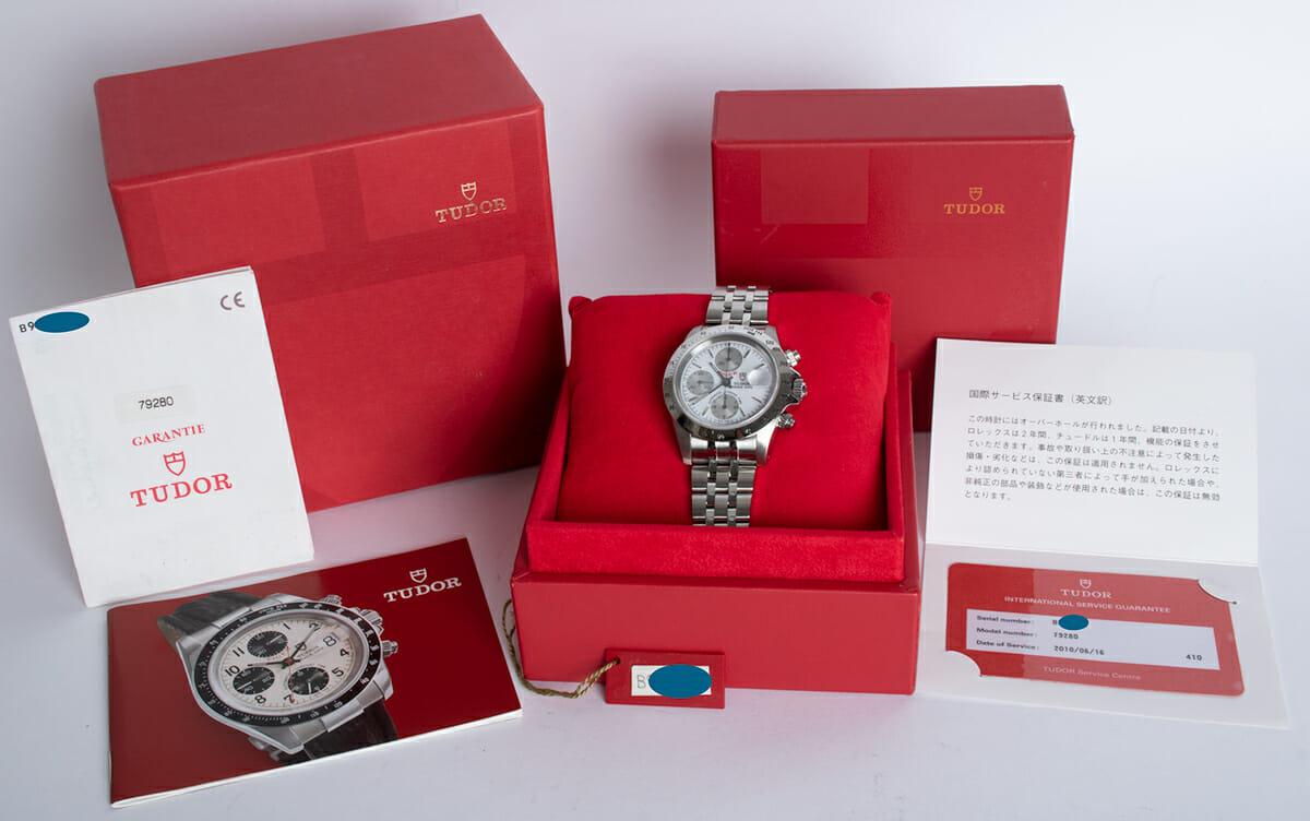 Box / Paper shot of Prince Date Chronograph