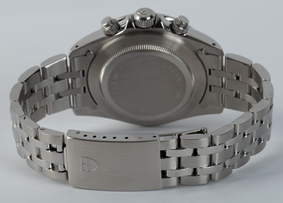 Rear / Band View of Prince Date Chronograph