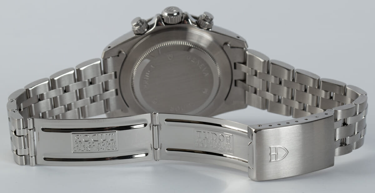 Open Clasp Shot of Prince Date Chronograph