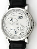 We buy A. Lange & Sohne Lange 1 Time Zone watches