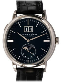 We buy A. Lange & Sohne Saxonia Moon Phase watches