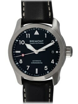 We buy Bremont SOLO-37 BLACK watches