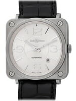 We buy Bell & Ross BR S Officer Silver watches