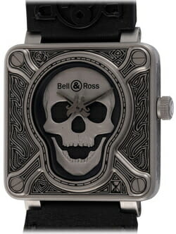 We buy Bell & Ross BR 01 Burning Skull watches