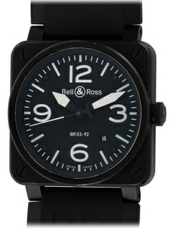 We buy Bell & Ross BR 03-92 Carbon watches