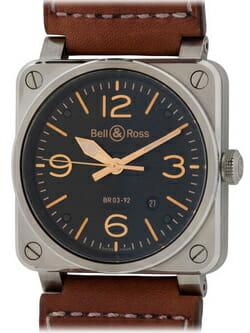 We buy Bell & Ross BR 03-92 Golden Heritage watches