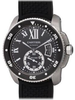 We buy Cartier Calibre de Cartier Diver watches