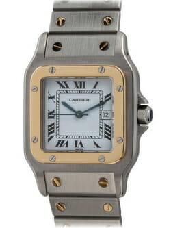 We buy Cartier Santos  Galbee watches