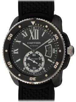 Sell my Cartier Calibre de Cartier Carbon Diver watch