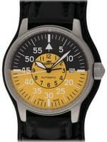 We buy Fortis Flieger Cockpit Yellow watches