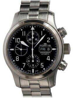 We buy Fortis Aeromaster Chronograph watches